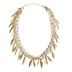 Stella & Dot Garland Fringe Necklace